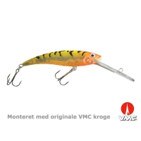 SILVER FOX - Slim deeprunner - 11 cm floating - Hot tiger