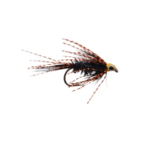 Streamer flue sort/kobber str 4